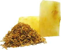 Chamomile and Calendula Glycerin Soap