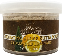 Exfoliating Sugar Butta Scrub - Cedarwood and Lemon