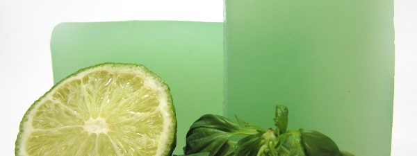 Basil Lime Glycerin Soap