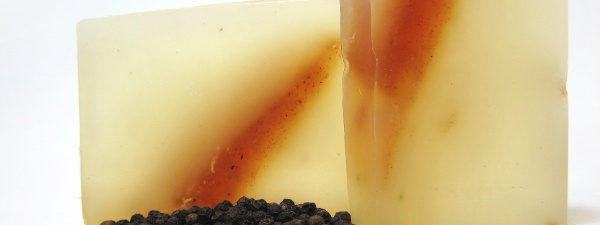 Black Pepper and Patchouli Glycerine Soap