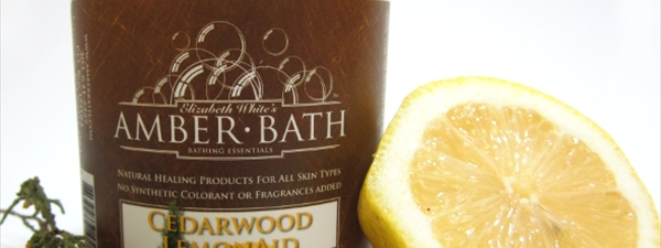 Cedarwood and Lemon Salty Sea Scrub
