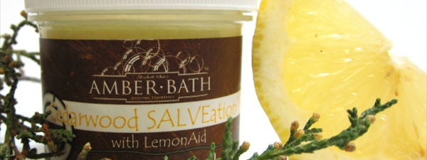 Cedarwood and Lemon Salve