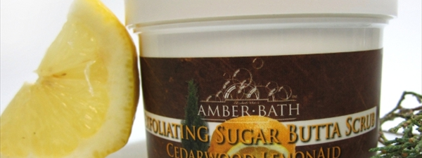 Cedarwood Lemon Sugar Butta Scrub