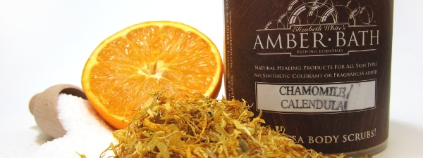 Chamomile and Calendula Salty Sea Scrub