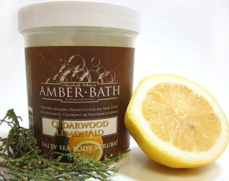 Salt Scrub - Cedarwood and LemonAID