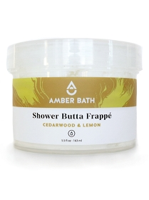 Shower Butta Frappe - Cedarwood and Lemon
