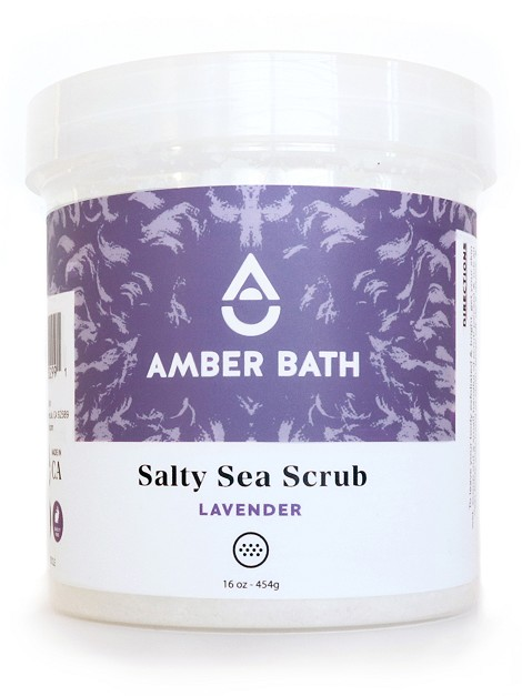 Salty Sea Scrub - Lavender